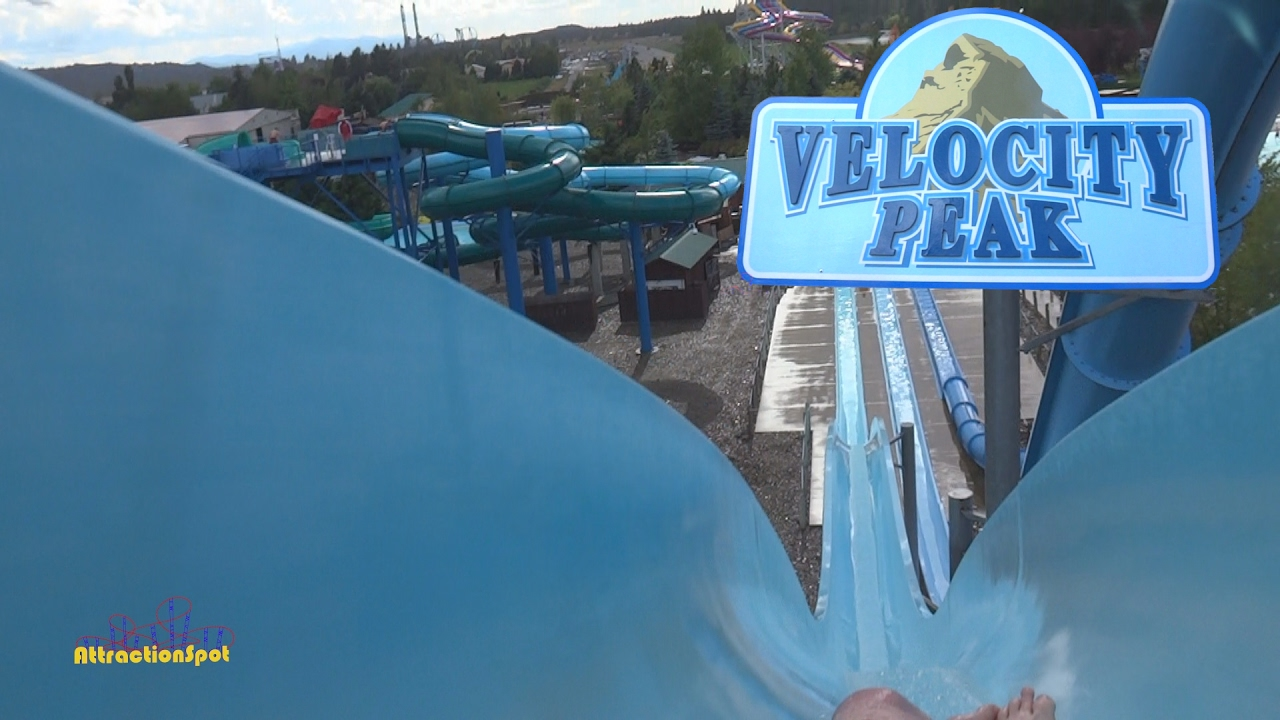 Velocity Peak All 3 Body Slides Hd Pov Boulder Beach Water Park