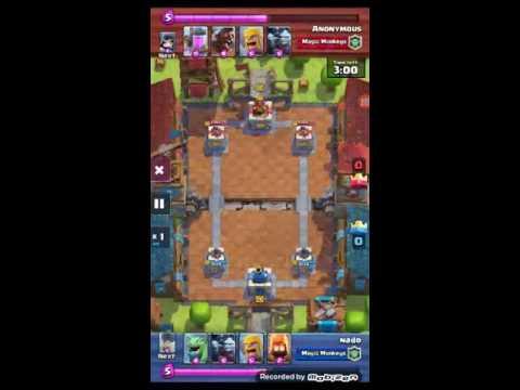 Clash royal gaming #12 (NH situation)
