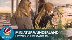Miniatur Wunderland testet Betrieb unter Corona-Auflagen