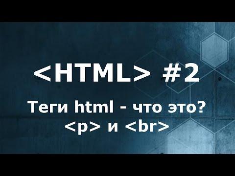 Что такое теги HTML? Теги p и br