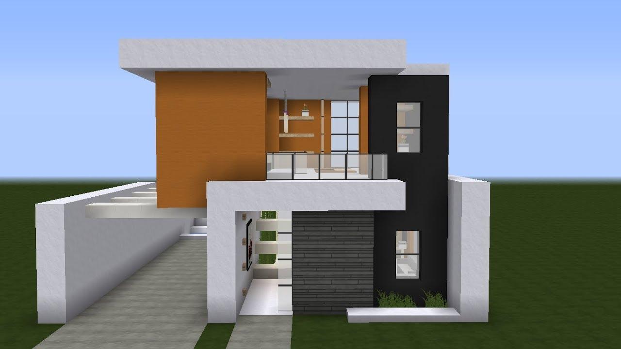 Modern House = Casa Moderna = Minecraft #4