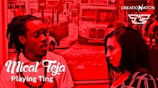 micalteja playing ting official music video