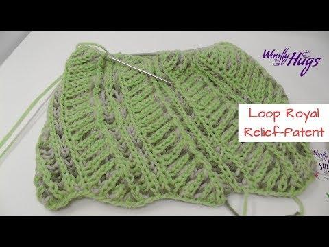 Loop Royal - Relief-Patent - Einfach Stricken - Woolly Hugs SHEEP ...