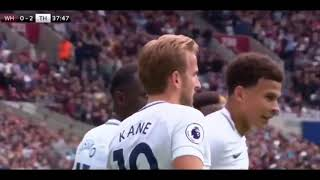 West Ham vs Tottenham 2 3   All Goals & Highlights  23 09 2017 HD