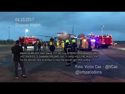 ALERT American Airlines AA62 - 04 OCTUBER 2017