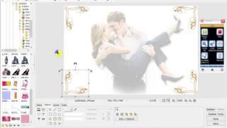 Como fazer convite de casamento no PhotoScape