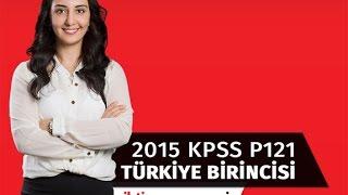 100 Tam Puan ile P121 Türkiye Birincisi Başarı Öyküsünü Anlatıyor