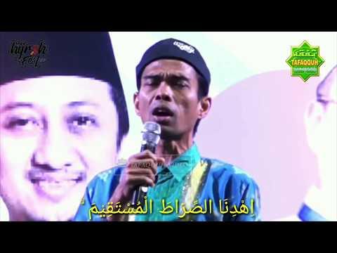 Merdunya Suara Ustadz Abdul Somad Membaca Surah Al Fatihah