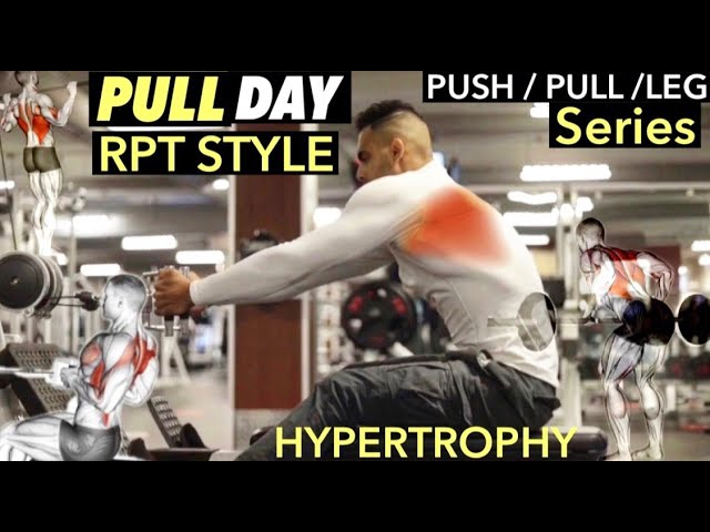 Push Pull Leg Series (Day 2 Of 3) Pull Workout With Reverse Pyramid Training Style