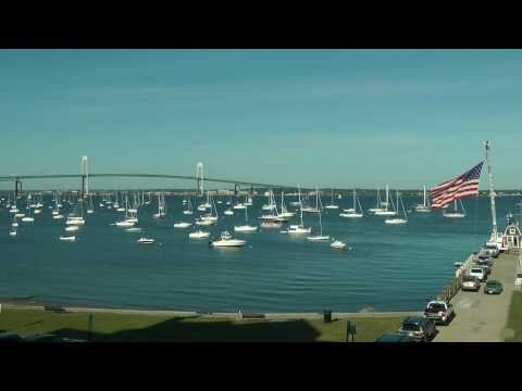 Time Lapse of Jamestown Harbor