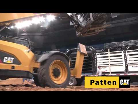 Professional Bull Riders (PBR) Chicago Time Lapse Of Stage Set Up Using Patten Cat Machines