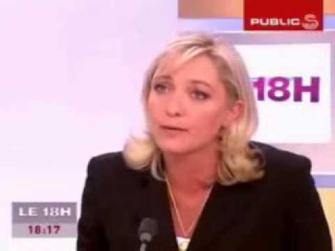 Marine Le Pen et la République