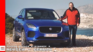 2018 Jaguar E-Pace R-Dynamic S Review - German