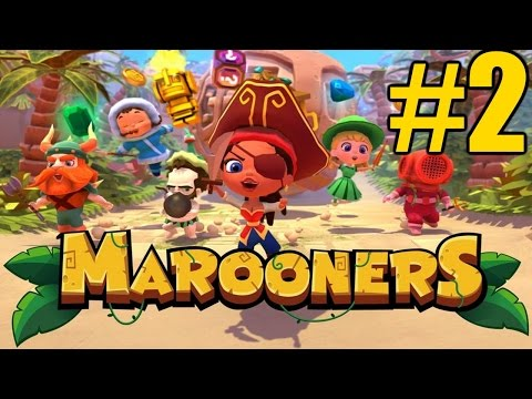 The FGN Crew Plays: Marooners #2 - The Rainbow Club (PC) |
