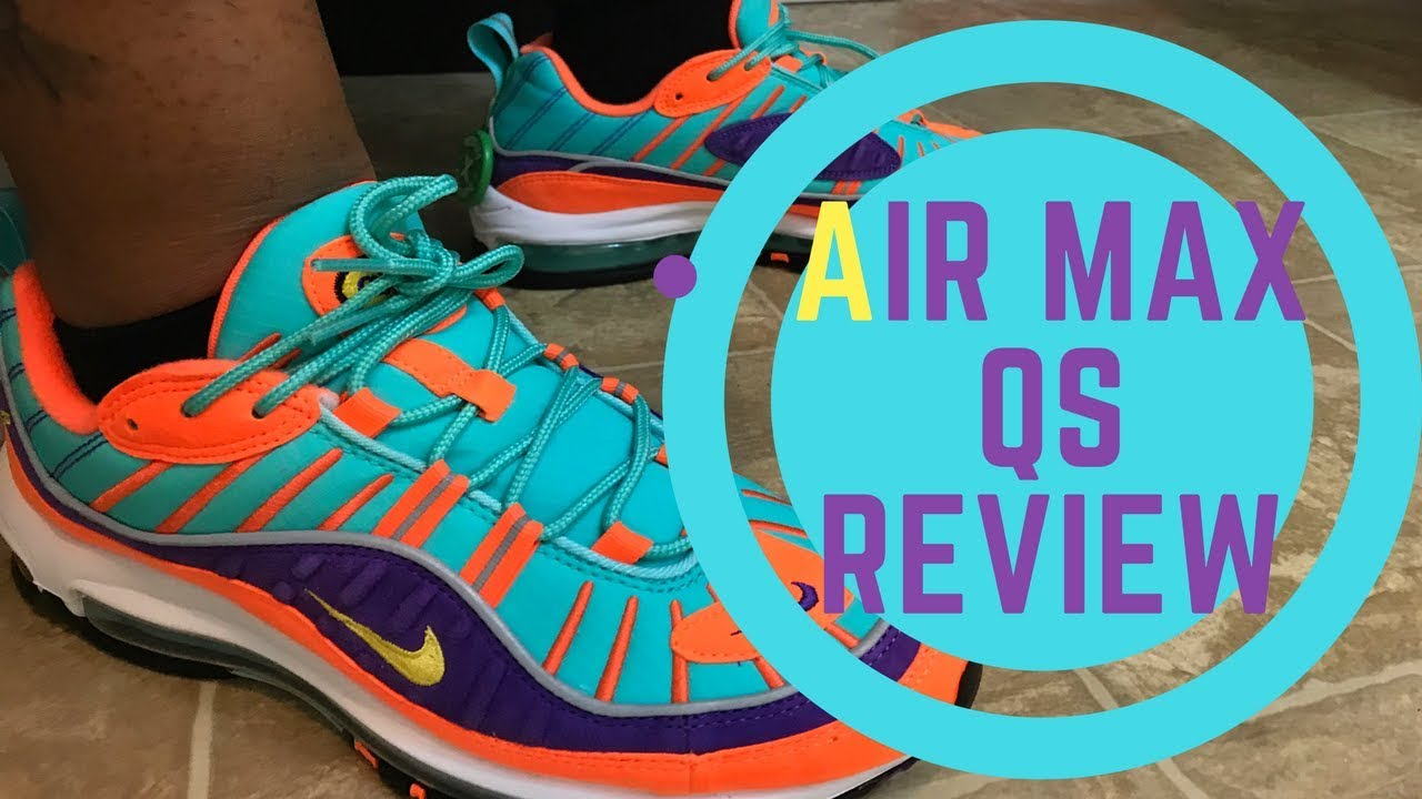 5be7368bf68e Nike Air Max 98 Qs Unboxing and Review - YouTube