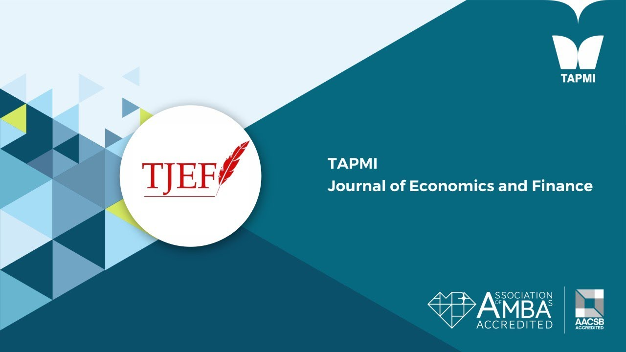 TAPMI Journal of Economics and Finance