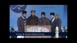 Jalsa Salana Qadian 2012 2ND Day 1ST Session Chorus
