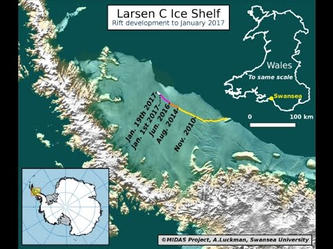 News and Events 2017 UPDATE! ANTARCTICA'S ICE IS MELTING FAST!