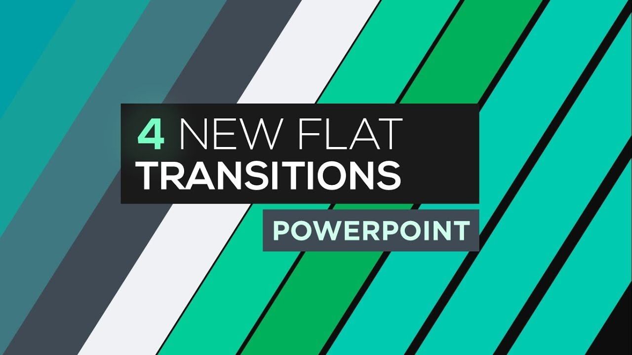 Flat Transitions in PowerPoint - Motion Graphics Tutorial ...