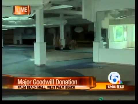 Major Goodwill Donation From Palm Beach Mall