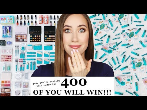 The Biggest Makeup Giveaway EVER 😱 thumbnail