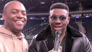 Big Baby Miller RINGSIDE! SAVAGES Anthony Joshua, Deontay Wilder & Tyson Fury