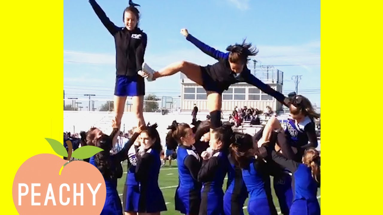 Download Funny Cheerleading Fails That'll Make You Cry Laughing 😂