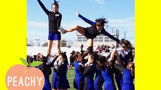 Funny Cheerleading Fails That'll Make You Cry Laughing 😂