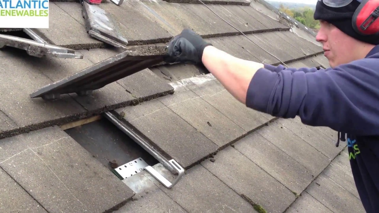 How To Correctly Install A Roof Hook For Solar Panel