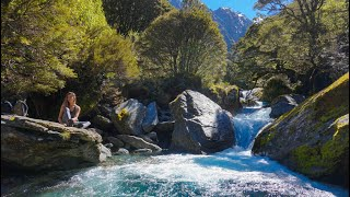 Wilderness hiking in New Zealand | Siberia Valley and Southern Alps