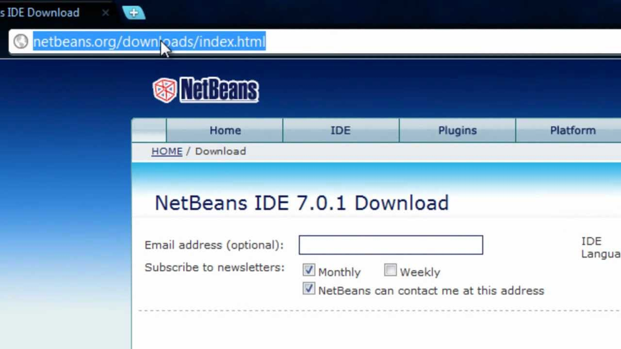 Java tutorial 1 install jdk 7 netbeans 7 and eclipse youtube java tutorial 1 install jdk 7 netbeans 7 and eclipse baditri Gallery