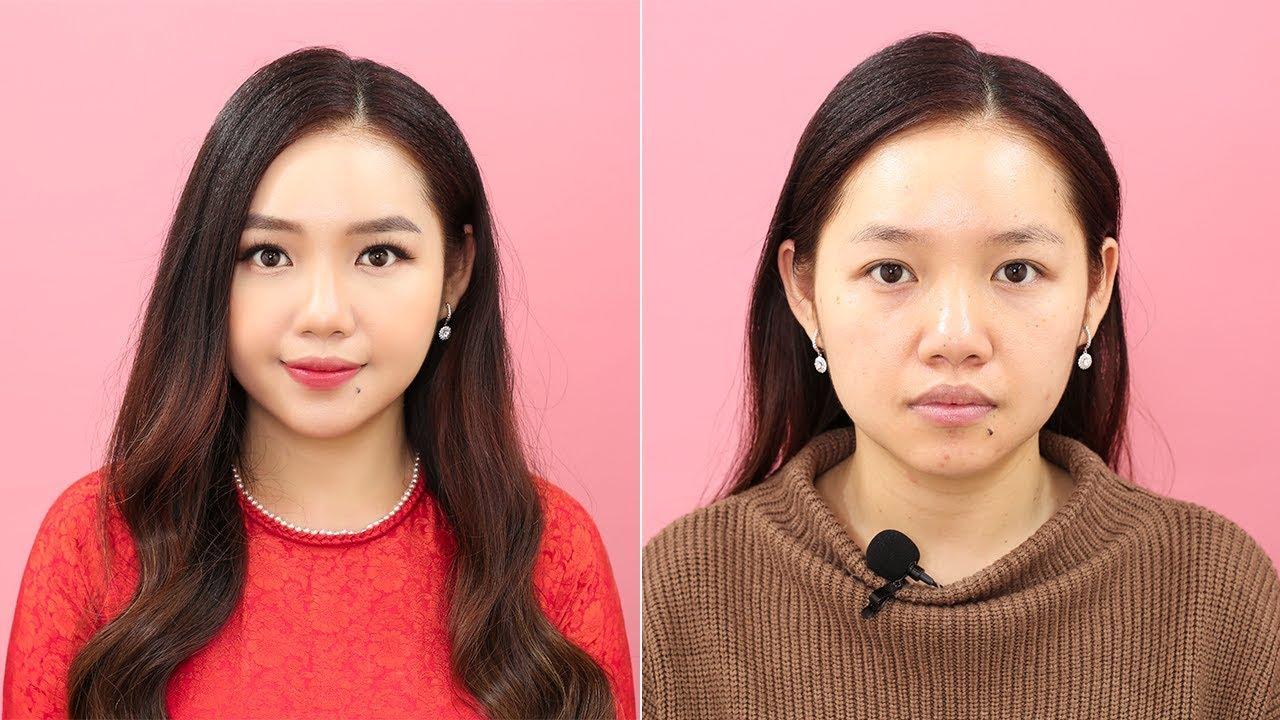 Bộ Trang Điểm Cơ Bản Cho Người Mới Bắt Đầu Makeup [TRANG SUN MAKEUP]