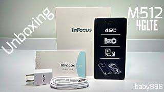 "Infocus M512 4G LTE - Qualcomm 400 1GB/4GB 4.4.2 HD 5.0"" OTG NFC 2500mAh - Unboxing!"