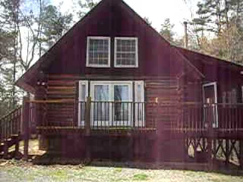 Ellijay log cabin for rent in the coosawattee river resort for Ellijay cabins for rent by owner