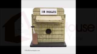 18 Holes Bird House Birdhousesupply.com