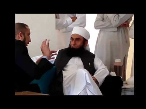 full video When Nouman Ali khan Met Maulana Tariq Jameel in Dubai feb 2015