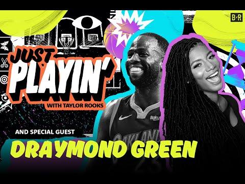 Draymond Green Talks NBA Villains, DPOY and Top NBA Players   'Just Playin' S1E2