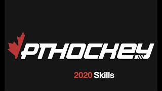 Hockey drills and skills by PTHockey: Mohawk & puck protection shooting
