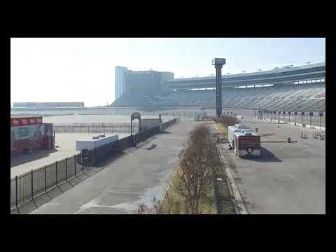 Chase Elliott takes Camaro ZL1 on to track at Texas Motor Speedway