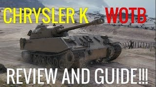 WOTB | CHRYSLER K | REVIEW & TIPS!!!