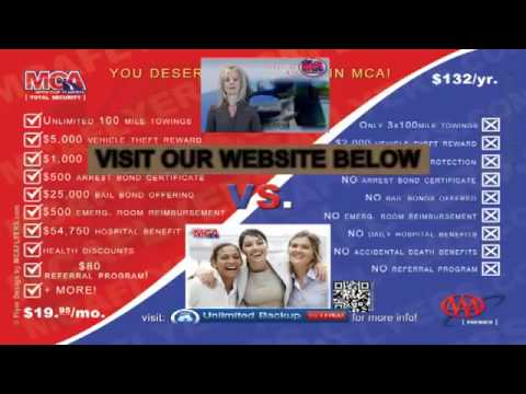SCAM !!! AAA vs MCA roadside assistance  Watch before Joining AAA !