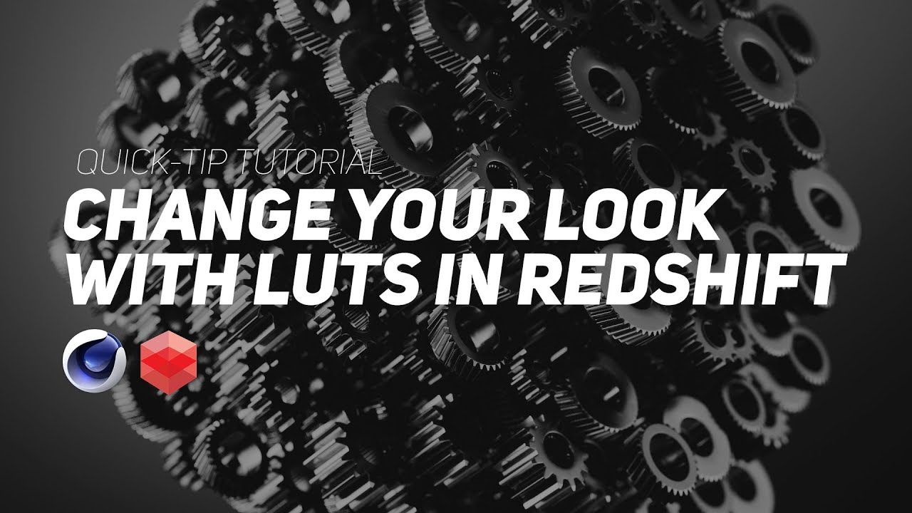 Use LUTs with Redshift in Cinema 4D, a Quick Tip from