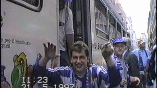 Repeat youtube video Per Sonderzug zum UEFA-Cup-Finale am 21.05.1997 FC Schalke 04 gg. Inter Mailand