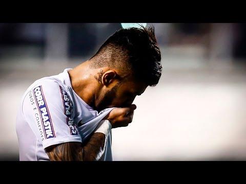 Santos 4 x 0 Atlético-MG | GOLS | Brasileirão (16/09/15)