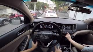 Hyundai New Tucson TURBO Test Drive Onboard POV