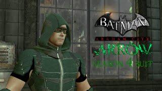 SKIN; Batman; Arkham City; Season 4 CW Arrow