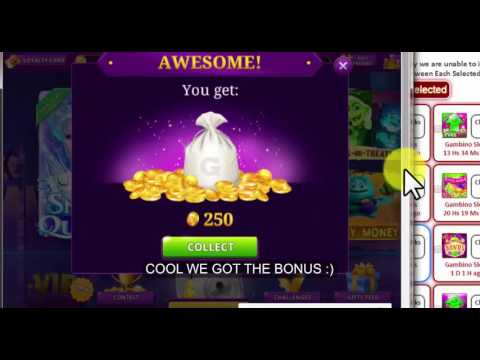 Collect Gambino Slots Bonuses Shared By Other Players : Gameskip.Com