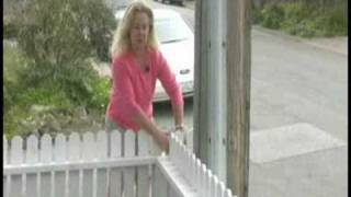 Installing A Picket Fence : Connecting A New Picket Fence To A Wall Or Fence