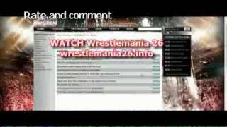 Wwe Wrestlemania 26 Results-1