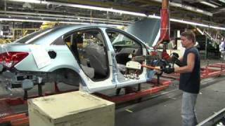 Chevrolet Cruze Production Line
